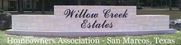 Willow Creek Estates, San Marcos, TX